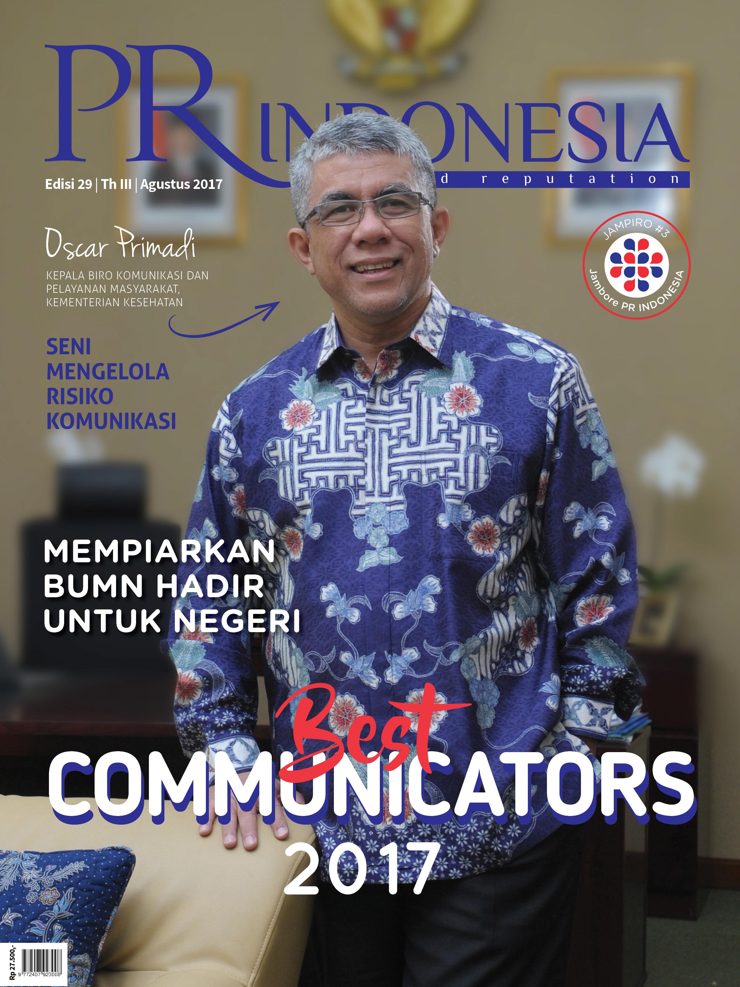 Cover Edisi 29 / Th III / Agustus 2017