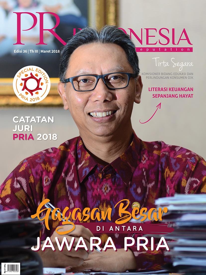 Cover edisi 36 - Maret 2018